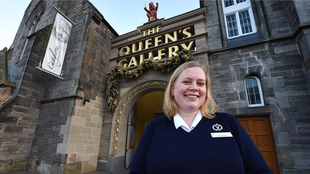 Warden at The Queen's Gallery, Edinburgh