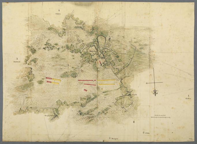 Map of encampment at Nistelrode, 1748 (Nistelrode, North Brabant, Netherlands) 51?42'15