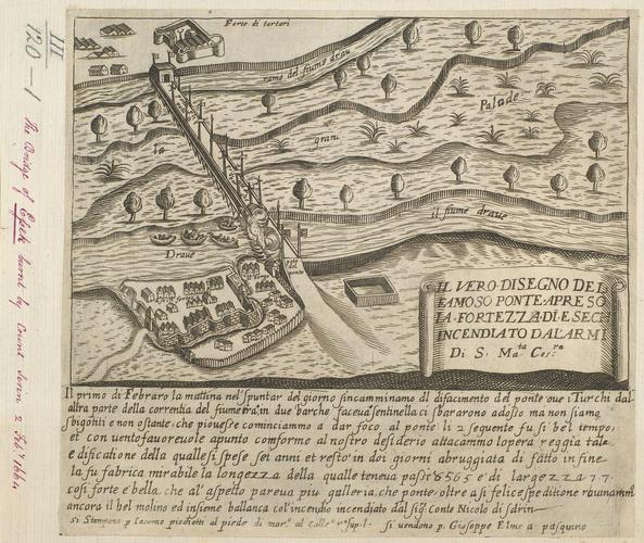 Item: A view of Osijek, 1664 (Osijek [Essek, Essick], Osjecko-Baranska, Croatia) 45?33?04?N 18?41?38?E