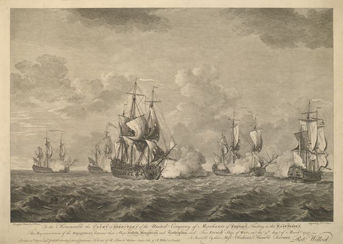 View of Cape of Good Hope, 1757 (Cape of Good Hope, Western Cape, South Africa) 34?21'30