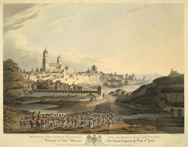 Salamanca, 1812 (Salamanca, Castille and Leon, Spain) 40?58'00