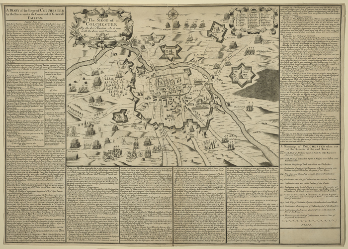 Siege of Colchester, 1648 (Colchester, Essex, England, UK) 51?53?21?N 00?54?15?E