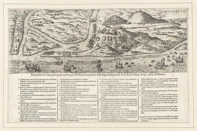View of Olinda, 1630 (Olinda, Pernambuco, Brazil) 08?00?32?S 34?51?19?W