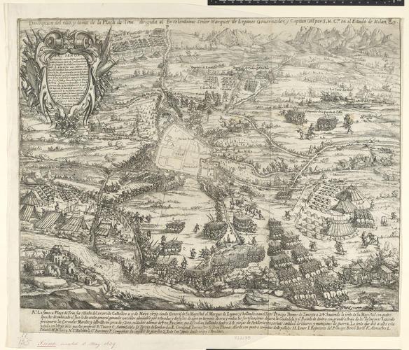 View of Trino, 1639 (Trino, Piedmont, Italy) 45?11?43?N 08?17?46?E