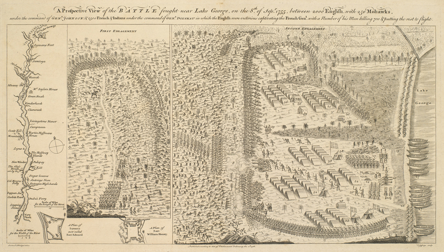 Master: Lake George, 1755 (Lake George, New York, USA) 43?25'33
