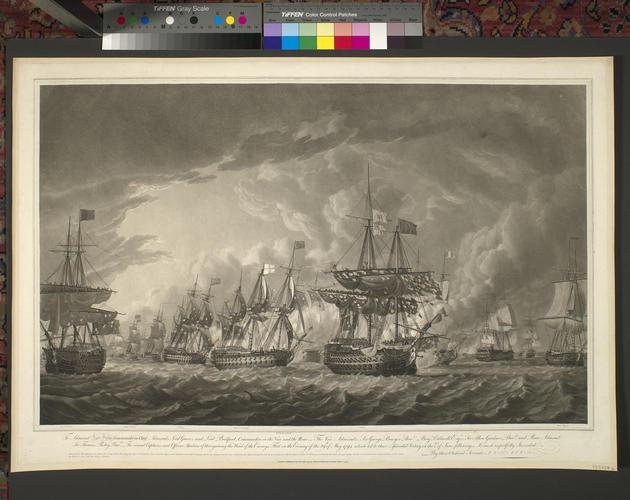 Master: [Naval Engagement 29 May - 1 June 1794] Item: Ushant, 1794 (Ushant, Brittany, France) 48?27'27
