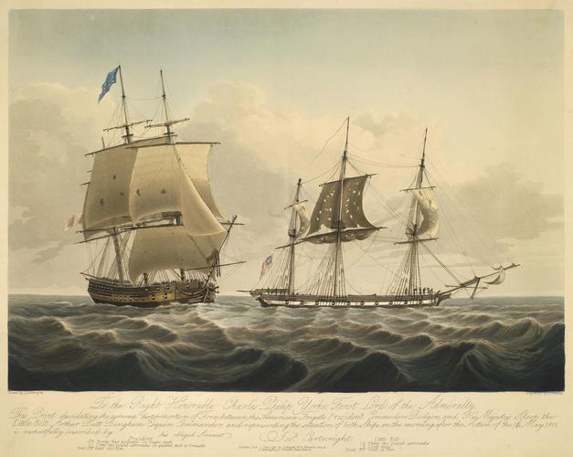 Sandy Hook, 1811 (Sandy Hook, New Jersey, USA) 40?27'10