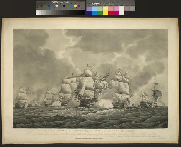 San Domingo Bay, 1806 (Santo Domingo Bay, Dominican Republic) 18?18'00