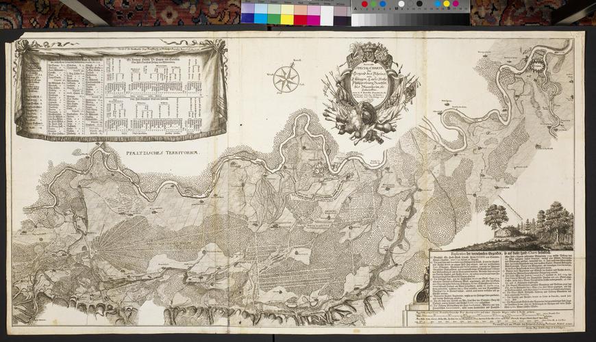 Order of battle of the Imperial army at Philippsburg, Bruchsal, Ettlingen, Karlsruhe and Mannheim, 1735 (Philippsburg, Baden-Wurttemberg, Germany) 49?13?54?N 08?27?39?E; (Bruchsal, Baden-Wurttemberg,