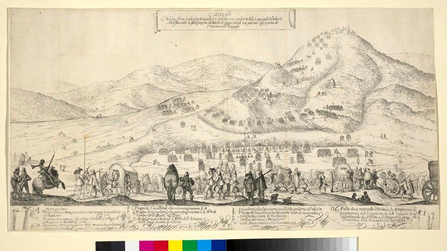 View of the Battle of Mongoviono, 1643 (Mongiovino, Umbria, Italy) 43?01?16?N 12?08?37?E