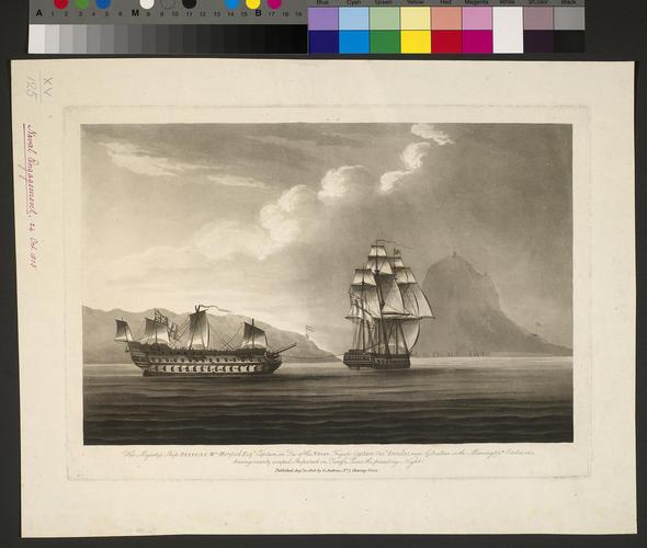 Battle of Trafalgar, 1805 (Gibraltar, British Overseas Territory) 36?08'00