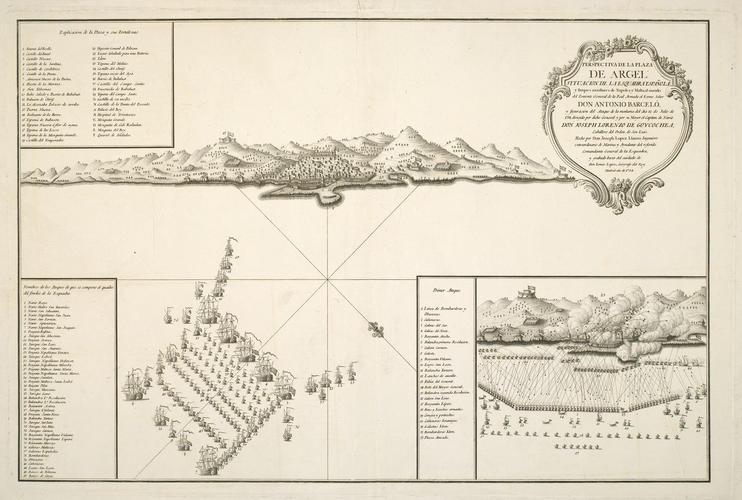 View of Algiers, 1784 (Algiers, Algeria) 36?45'09