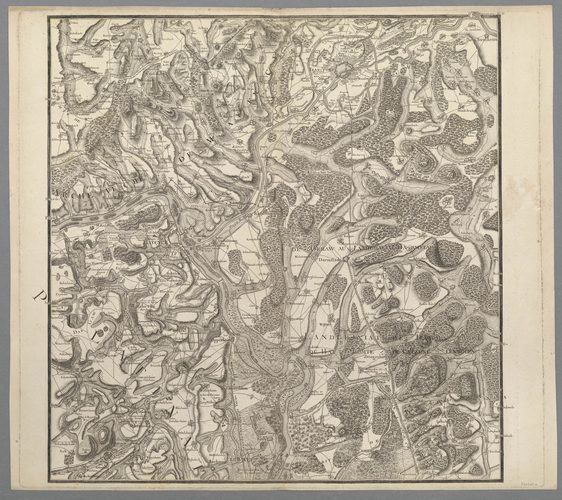 Master: Maps of the Rhine, 1674-5 Item: Map of the Rhine, 1674-5