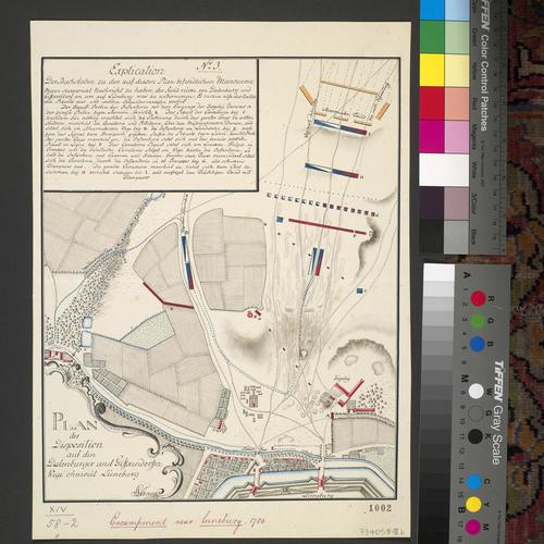 Item: Map of Luneburg, 1780 (Luneburg, Lower Saxony, Germany) 53?15'03