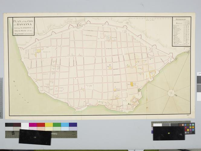 Plan of Havana, 1762 (Havana, Ciudad de La Habana, Cuba) 23?07'58