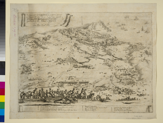 View of Piombino, 1650 (Piombino, Tuscany, Italy) 42?55?31?N 10?31?33?E