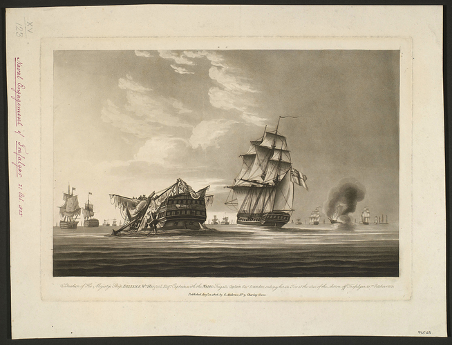 Battle of Trafalgar, 1805 (Cabo Trafalgar, Andalusia, Spain) 36?10'51
