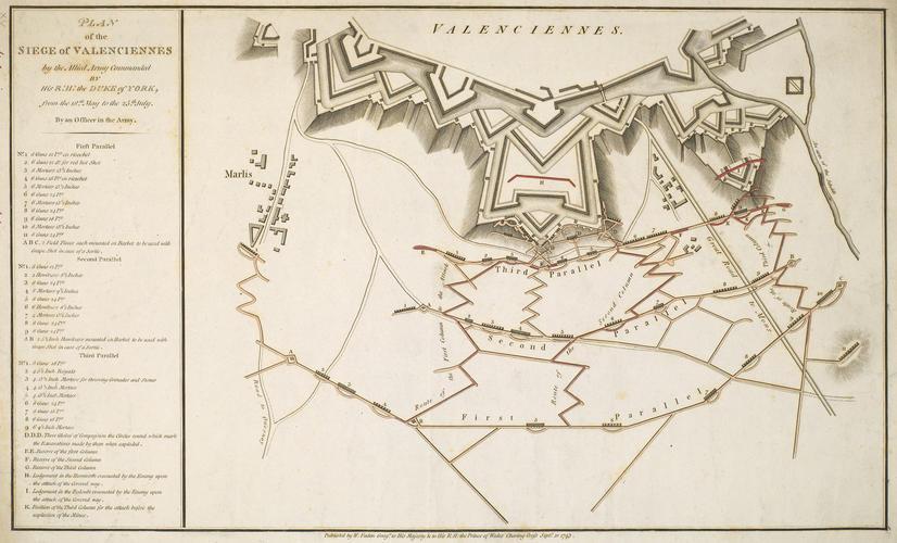 Master: Maps of Valenciennes, 1793 (Valenciennes, Nord-Pas-de-Calais, France) 50?21'00