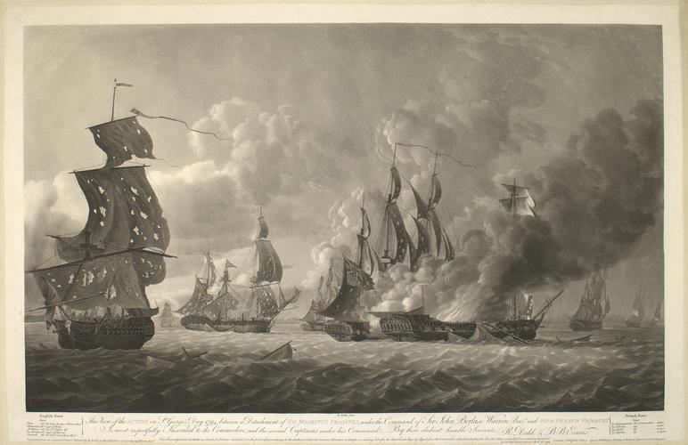 Guernsey, 1794 (near Guernsey, English Channel) 49?15'38