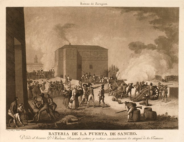 Master: First siege of Saragossa, 1808 (Zaragoza, Aragon, Spain) 41?39'21