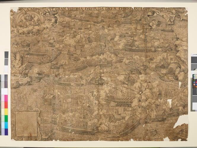 Battle of Lepanto, 1572 (Nafpaktos, West Greece, Greece) 38?23?30?N 21?49?39?E