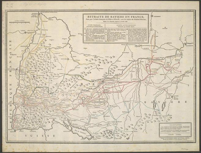 Map of Bavaria, 1796 (Bavaria, Germany)