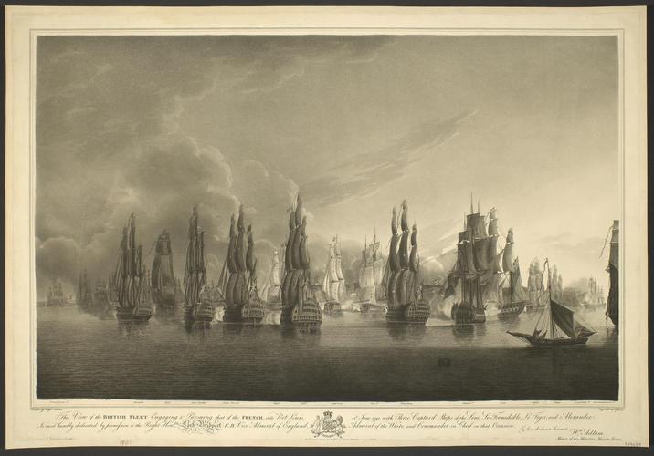 Ile de Groix, 1795 (Ile de Groix, Brittany, France) 47?38'12