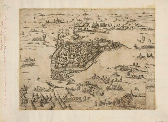 View of Gotha, 1567 (Gotha, Thuringia, Germany) 50?56?53?N 10?42?06?E