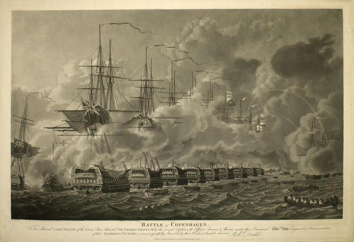 Battle of Copenhagen, 1801 (Copenhagen, Capital Region, Denmark) 55?40'33
