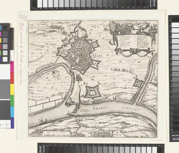 View of Wesel, 1629 (Wesel, North Rhine-Westphalia, Germany) 51?40'00