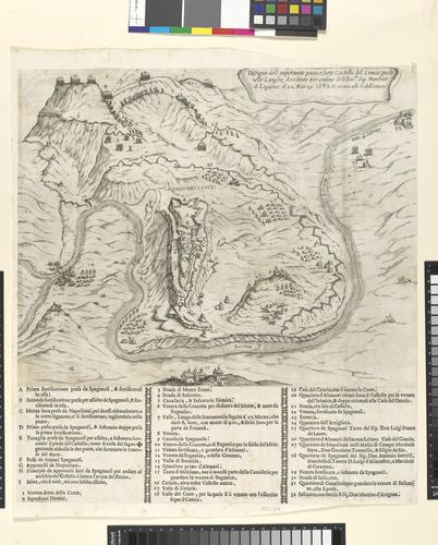 View of the siege of Cengio Alto, 1639 (Cengio [Cencio], Liguria, Italy) 44?23?04?N 08?11?51?E
