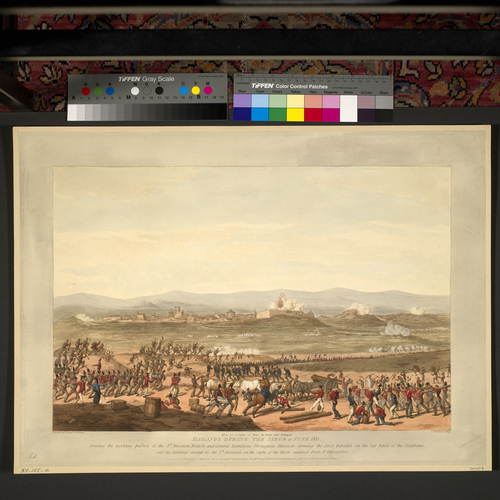 Master: Spain Twelve Views of the principal occurences of the Campaigns of 1810 and 1811 in Spain and Portugal: by Major T. S. t Clair, engraved by C. Turner, 1812-15. Item: Badajoz, 1811 (Badajoz, E