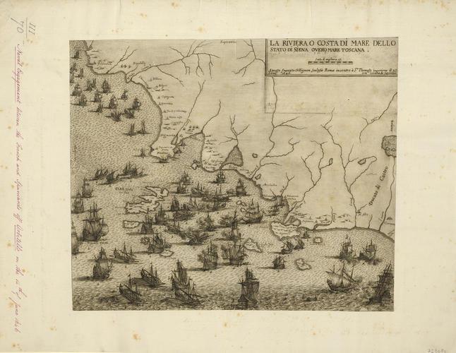 View of the Battle of Orbetello, 1646 (Orbetello, Tuscany, Italy) 42?26?30?N 11?13?17?E