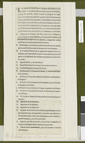 Siege of Vercelli, 1638 (Vercelli, Piedmont, Italy) 45?19?17?N 08?25?11?E