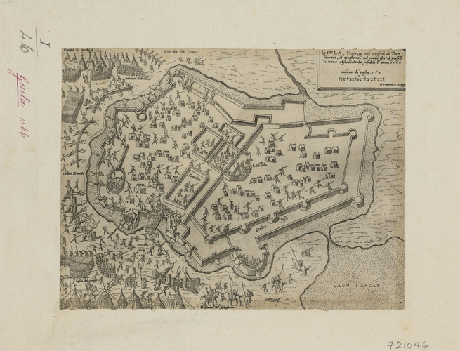 View of the siege of Gyula, 1566