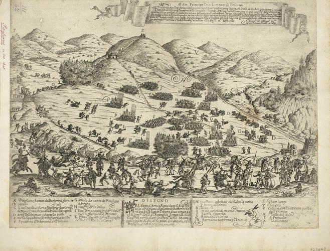 View of the siege of Pitigliano, 1643 (Pitigliano, Tuscany, Italy) 42?38?08?N 11?40?28?E