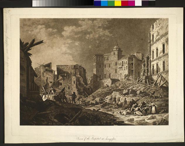 Master: First siege of Saragossa, 1808 (Zaragoza, Aragon, Spain) 41?39'21