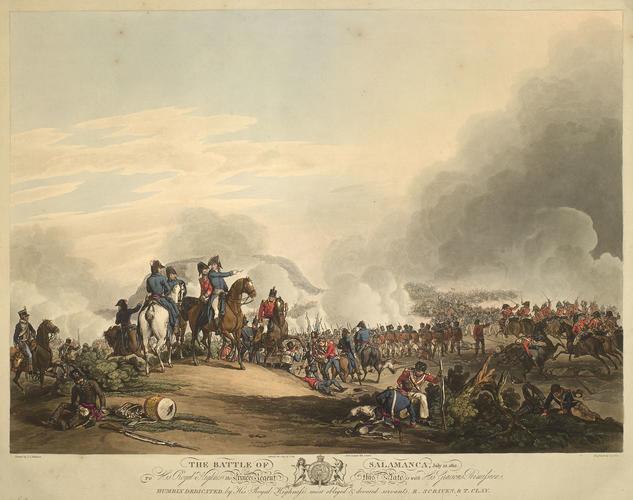 Item: View of the Battle of Salamanca, 1812 (Salamanca, Castille and Leon, Spain) 40?58'00