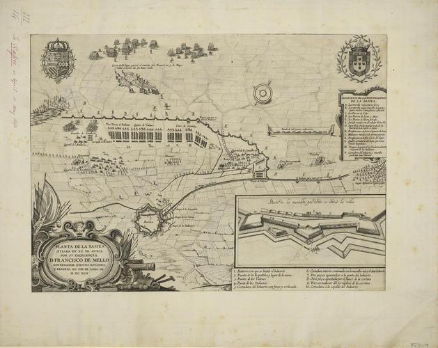 View of La Bassee, 1642 (La Bassee, Nord-Pas-de-Calais, France) 50?32?03?N 02?48?22?E