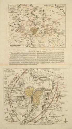 Maps of Prague, 1757 (Prague, Hlavni Mesto Praha, Czech Republic) 50?05'16