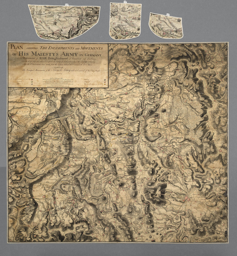 Master: Germany, 1760 Item: Map of Germany, 1760