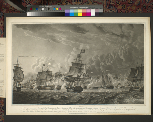 Master: [Naval Engagement 29 May - 1 June 1794] Item: Ushant, 1794 (Ushant, Brittany, France) 48?27'27