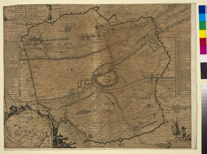 Master: Siege of Aire, 1641 (Aire-sur-la-Lys, Nord-Pas-de-Calais, France) 50?38'19