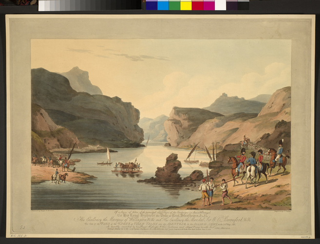 Master: Spain Twelve Views of the principal occurences of the Campaigns of 1810 and 1811 in Spain and Portugal: by Major T. S. t Clair, engraved by C. Turner, 1812-15. Item: Vila Velha, 1811 (Vila Ve