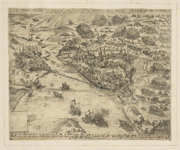 View of Budapest, 1602 (Budapest, Hungary) 47?28?52?N 19?02?23?E