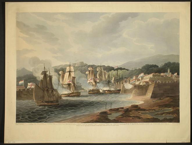 Curacao, 1807 (Curacao Island) 12?10'01
