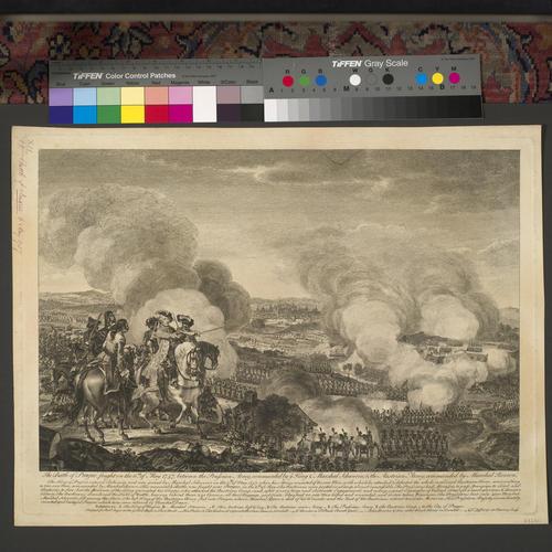 View of the Battle of Prague, 1757 (Prague, Hlavni Mesto Praha, Czech Republic) 50?05'16