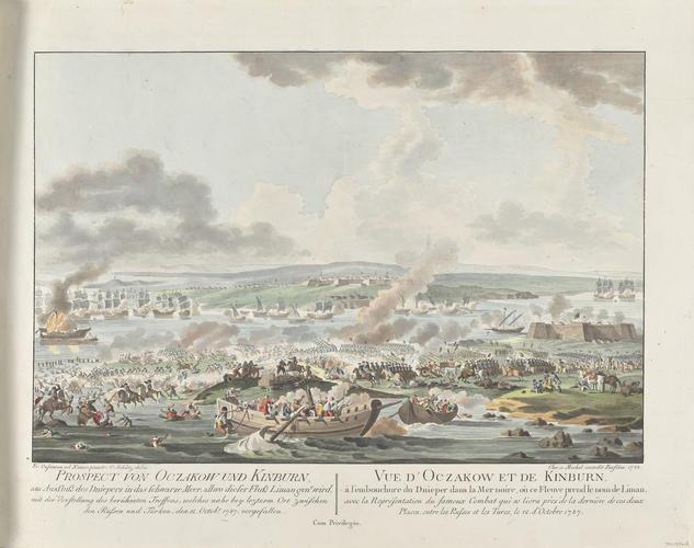 Master: Turkey, 1787-9 (Balkans; Ukraine) Item: Kinburns'ka Kosa and Ochakov, 1787 (Kinburn Spit, Mykolayivs'ka, Ukraine) 46?34'00