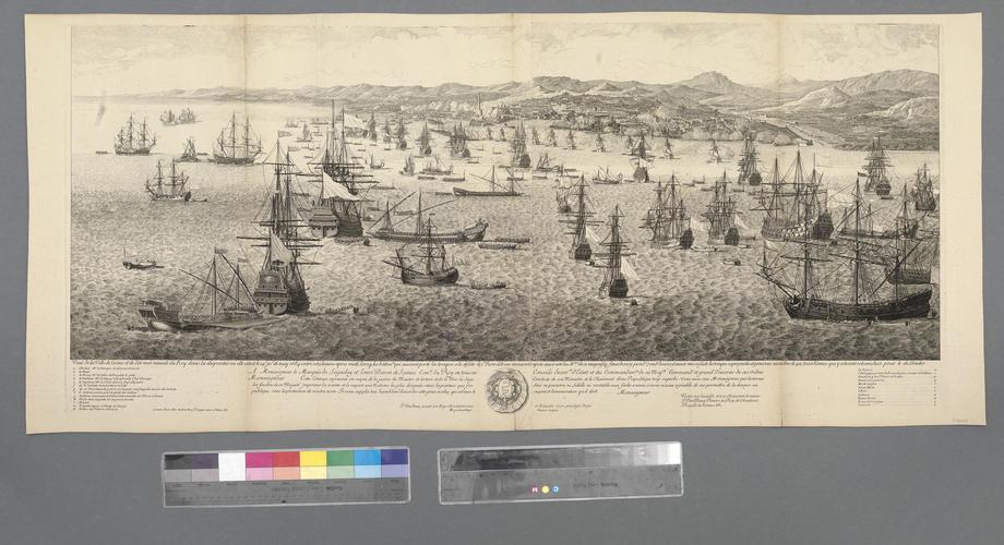 View of Genoa, 1684 (Genoa, Liguria, Italy) 44?24'22