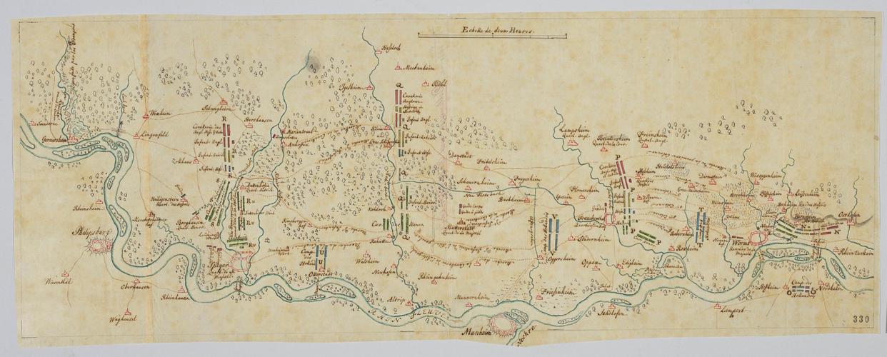 Master: Dettingen and Rhine, 1743 (Dettingen am Main, Bavaria, Germany) 50?02'29
